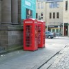Telephone boxes in St. Johns Place