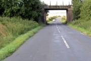 Disused railway bridge.