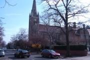 The parish church of St. Matthew, Northampton