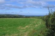 Farmland near Allt Nantypelau
