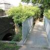 Modern footbridge, Fownhope