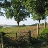 View SW over farmland at How Caple