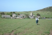 Approaching Zennor from the south west