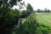 Bridge for agricultural machinery at Low Farm.