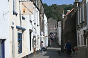 A Quiet Street in Polperro