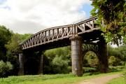 What a fantastic steel bridge.