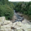 View downstream from top of High Force