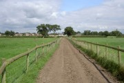 Farmers Road in Moors Lane Farm