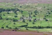 Healaugh from Harker Top
