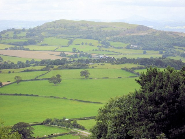 Trelawnyd - view from Gop Hill.