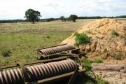 View across farmland adjacent to Tungate Road