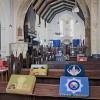 Interior of All Saints' Church, Calbourne