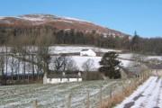 Farmsteads near Broadgate in winter
