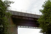 Railway viaduct over the Trans Pennine Trail.