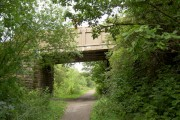 Bridge over the Trans Pennine Trail.