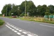 The A470 at Brynhaul