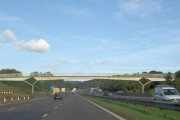 Bridges over the M1 going North.
