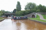 Harding's Wood Junction, Trent and Mersey Canal, Staffordshire