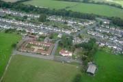 Stud Farm Stables, Farm and Stud Farm Estate from air