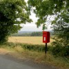The lonely post box.