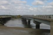 Loughor Rail and Road Bridges