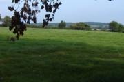 Farmland looking towards Pendomer