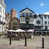 """Cathedral Close and """"Mol's Coffee House"""""""