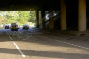 Under the M5 on the A38.