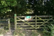 Entrance to Walton Woods