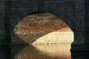 An arch of Barrow upon Soar bridge