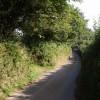 Lane past Hill Farm