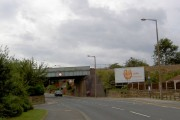Leeds to Sheffield railway bridge on Hunningley Lane.