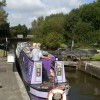 Poolstock No. 2 Lock on the Leigh Branch of the Leeds & Liverpool Canal