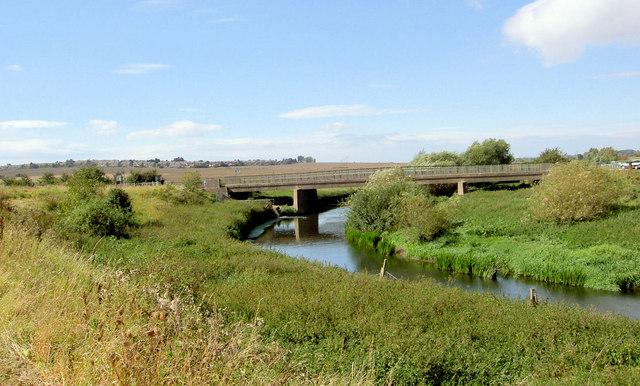 Road bridge over the River Dearne.