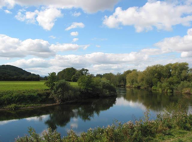 River Wye - Upstream from Hampton Bishop