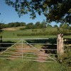 Gate into a field at Ponde