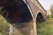 Bridge over disused railway