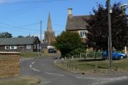 The village of Caldecott, Rutland