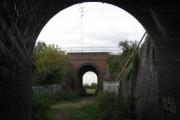 Twin bridges on Church Path