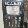 Old cigarette machine