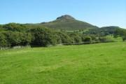 Farmland near Garth-morthin