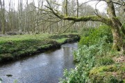 The River Sorn near Stone Cottage