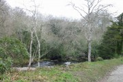 The River Sorn, upstream from the woollen mill