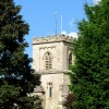 The tower of St George's Church, Brockworth