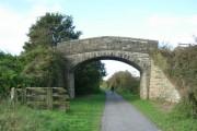 Bridge carrying path towards Seat House Farm