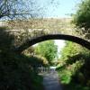 Bridge over cycle path, Seaton village