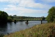 Footbridge over River Derwent