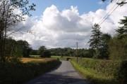 Road approaching Winswell
