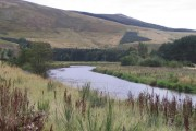 The River Tweed at Cardrona