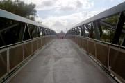 Bridge over River Don into Meadowhall